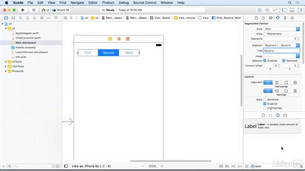Segmented controls: iOS 10 App Development Essentials 3: Intermediate UI Design