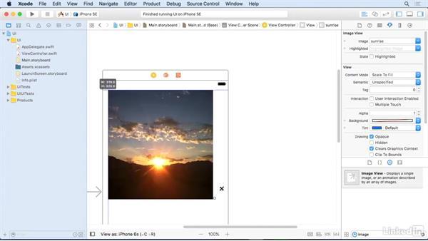 Image views: iOS 10 App Development Essentials 3: Intermediate UI Design