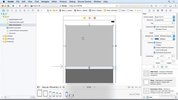 Pins with size classes: iOS 10 App Development Essentials 3: Intermediate UI Design