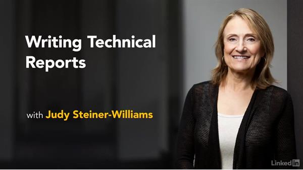 Welcome to Writing Technical Reports: Writing Technical Reports