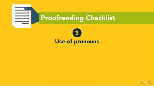 Proofreading strategies: Writing Technical Reports
