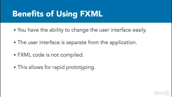 Benefits of using FXML: Create Interfaces with FXML and JavaFX