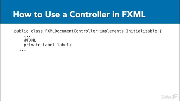 Definition of a controller: Create Interfaces with FXML and JavaFX