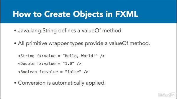 Static valueOf() objects: Create Interfaces with FXML and JavaFX