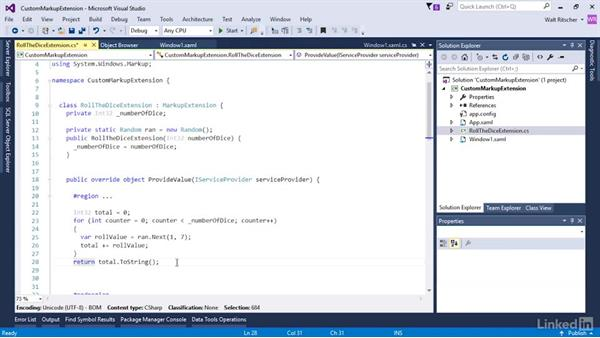 Create a custom markup extension: Microsoft XAML Fundamentals 3: Type Converters and Resources
