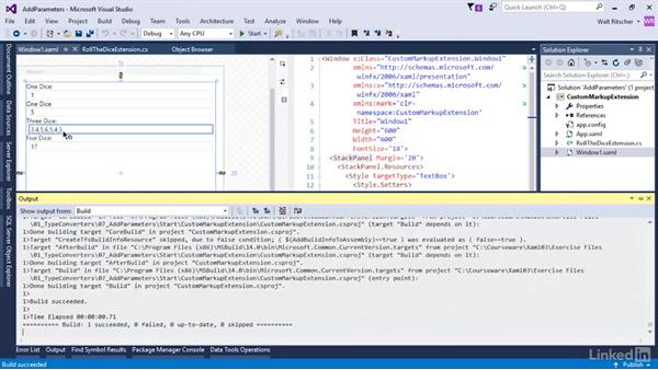 Add parameters to a custom markup extension: Microsoft XAML Fundamentals 3: Type Converters and Resources