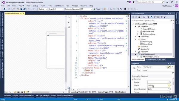 Types of resources: Microsoft XAML Fundamentals 3: Type Converters and Resources