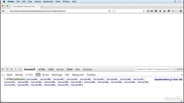 Parsing and mapping XML: D3.js Essential Training for Data Scientists