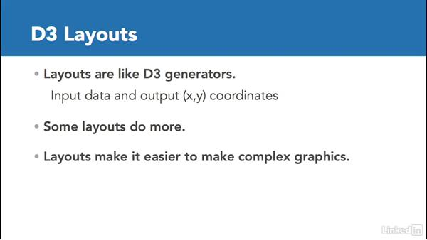 Introducing layout: D3.js Essential Training for Data Scientists
