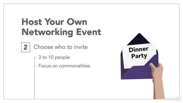 How to host your own networking event: Professional Networking