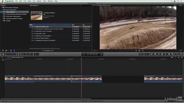 Welcome: Final Cut Pro X Guru: Creating Speed Changes