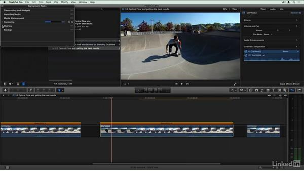 Optical Flow and getting the best results: Final Cut Pro X Guru: Creating Speed Changes