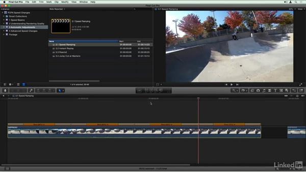 Speed Ramp: Final Cut Pro X Guru: Creating Speed Changes