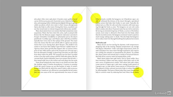 Two-page book grid: Learning Graphic Design: Layouts