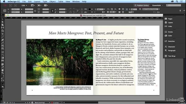 A magazine article: Learning Graphic Design: Layouts
