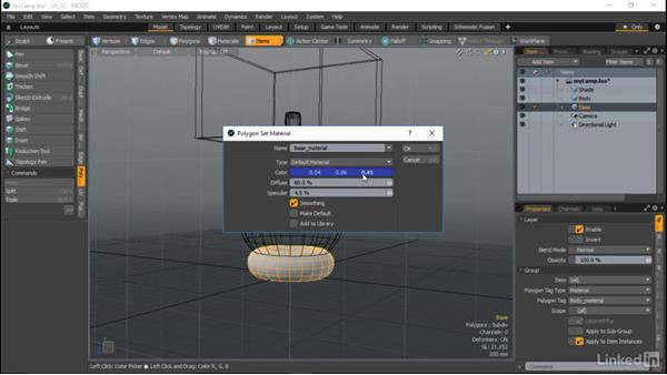 Step 2: Texturing: MODO Essential Training