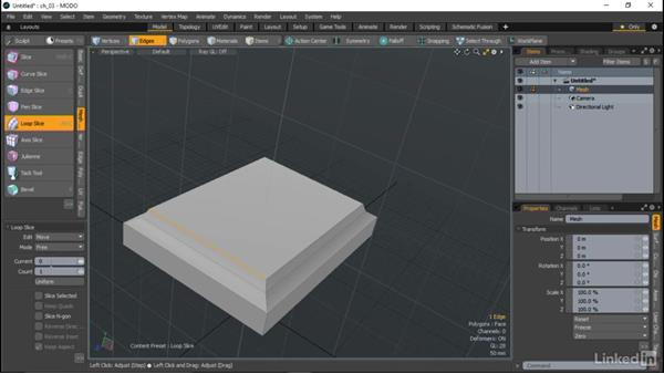 Tools to add polygons and detail: MODO Essential Training