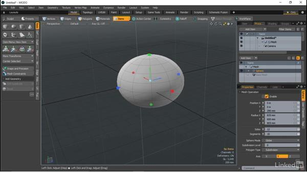 Procedural modeling overview: MODO Essential Training