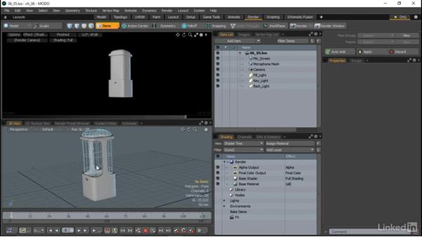 Working with the Advanced Viewport: MODO Essential Training