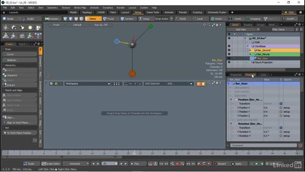 Basic rigging features: MODO Essential Training