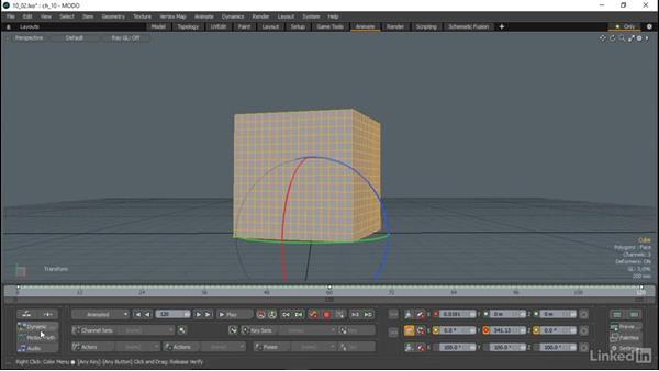 Basic animation workflow: MODO Essential Training