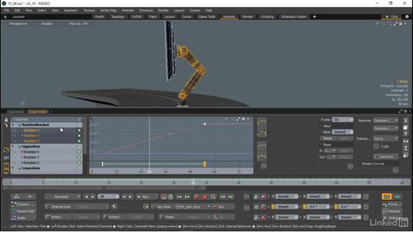 The Graph Editor and Dope Sheet: MODO Essential Training