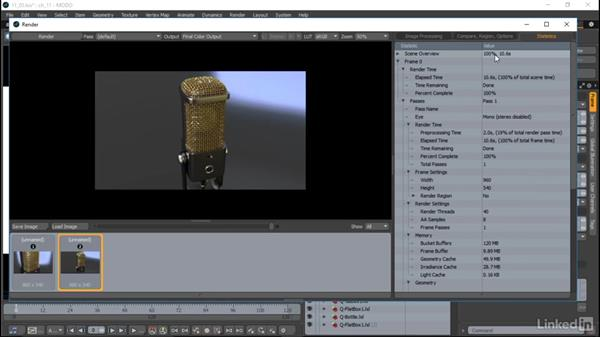Exporting rendered images: MODO Essential Training