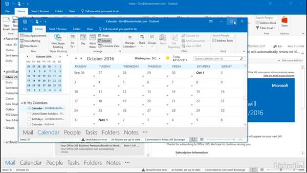 View Outlook in multiple windows: Outlook 2016: Advanced Tips and Tricks