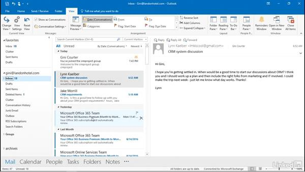 Make use of Favorites: Outlook 2016: Advanced Tips and Tricks