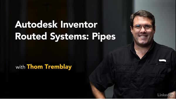 Welcome: Autodesk Inventor Routed Systems: Pipes