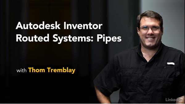 Goodbye: Autodesk Inventor Routed Systems: Pipes