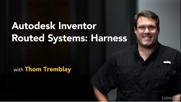Welcome: Autodesk Inventor Routed Systems: Harness