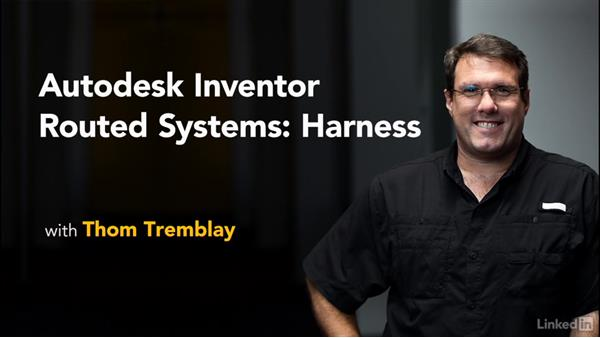 Summary: Autodesk Inventor Routed Systems: Harness