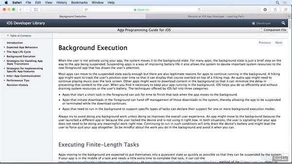 Next steps: iOS 10 App Development Essentials 4: Application Architecture