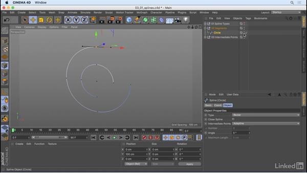 What are splines?: CINEMA 4D R18 Essential Training: Motion Graphics