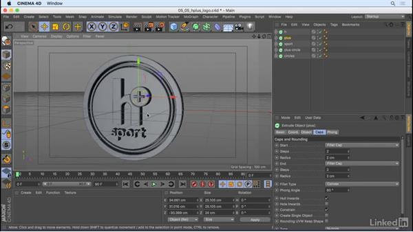 Enable objects to be animated with MoGraph: CINEMA 4D R18 Essential Training: Motion Graphics