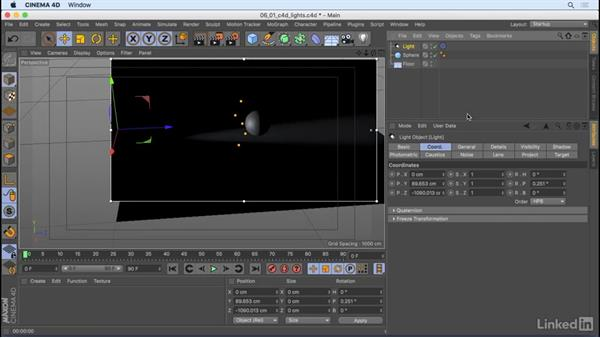 How do lights work?: CINEMA 4D R18 Essential Training: Motion Graphics