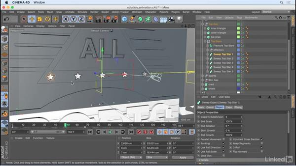 Solution: Animating MoGraph and cameras: CINEMA 4D R18 Essential Training: Motion Graphics