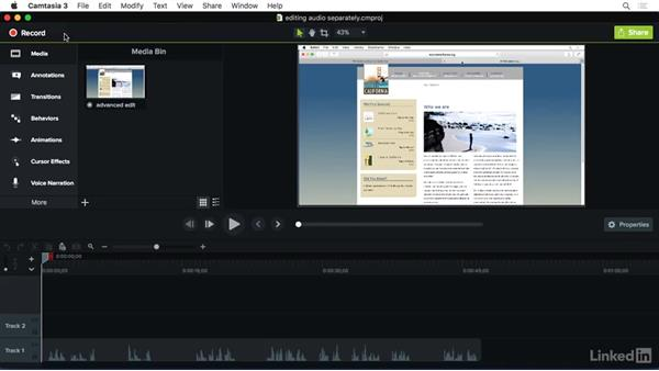 Using the exercise files: Camtasia 3 for Mac Essential Training