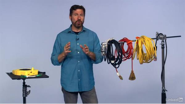 Extension cords and stingers: Grip Gear for Photographers