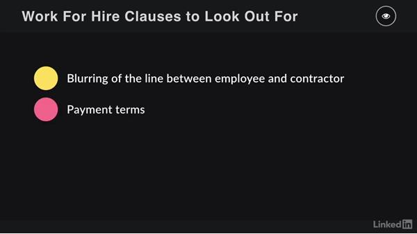 Clauses, terms, and language to look out for: Contracting for Creatives