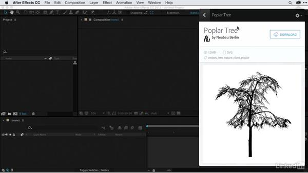Browsing assets: After Effects Guru: CC Market and Libraries