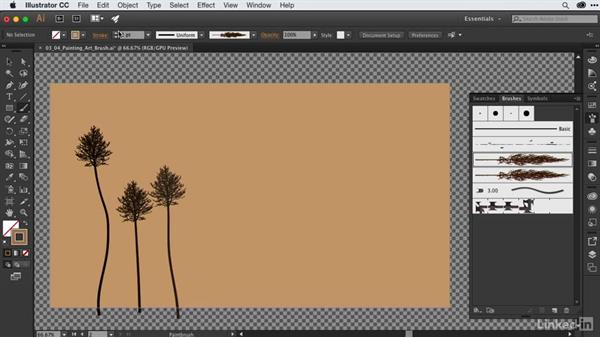 Painting a scene with art brushes: After Effects Guru: CC Market and Libraries