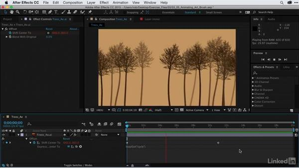 Animating a scene created from art brushes: After Effects Guru: CC Market and Libraries