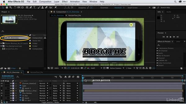Overview of the project: After Effects Guru: CC Market and Libraries