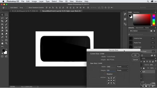 Building graphics with user interface elements: After Effects Guru: CC Market and Libraries