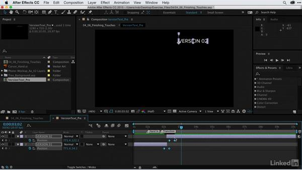 Adding the final touches: After Effects Guru: CC Market and Libraries