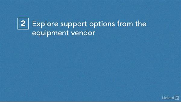 Solution: Technical equipment concerns: Managing Healthcare Projects
