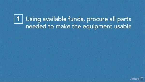Solution: Scope and funding changes: Managing Healthcare Projects