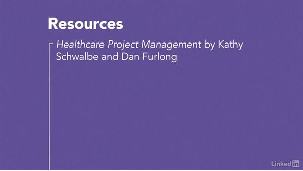 Next steps: Managing Healthcare Projects